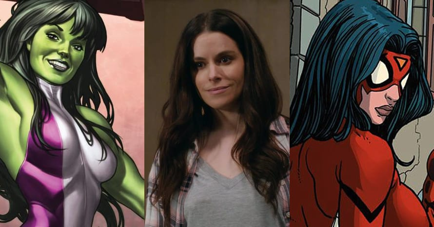 Emily Hampshire She-Hulk Spider-Woman Schitt's Creek