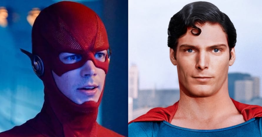Grant Gustin Christopher Reeve The Flash Superman
