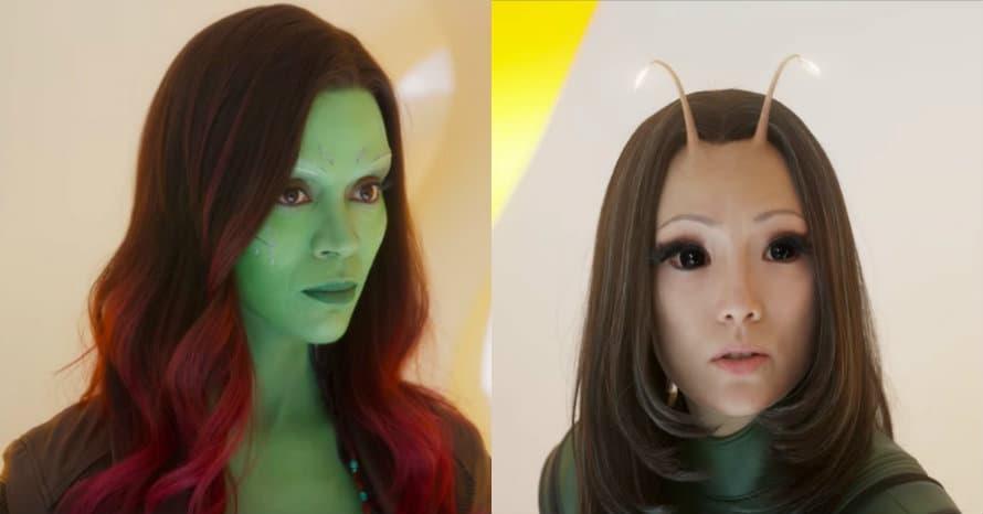 Guardians of the Galaxy Gamora Mantis James Gunn