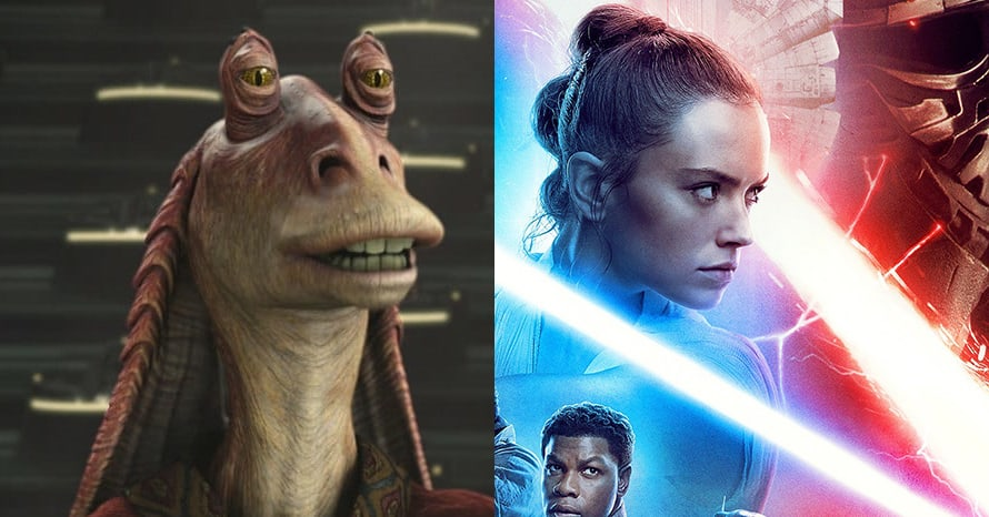 Jar Jar Binks Star Wars George Lucas