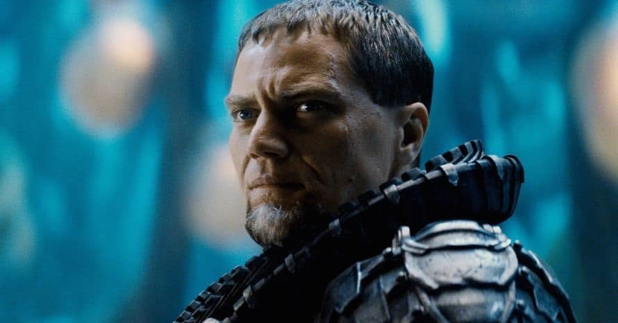 Man of Steel General Zod Michael Shannon Justice League Zack Snyder