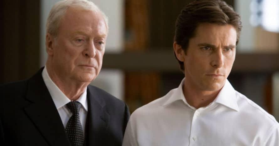 Michael Caine Christopher Nolan Batman Begins