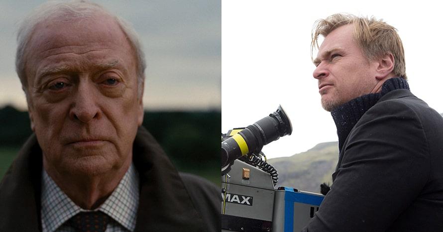 Michael Caine Christopher Nolan Tenet