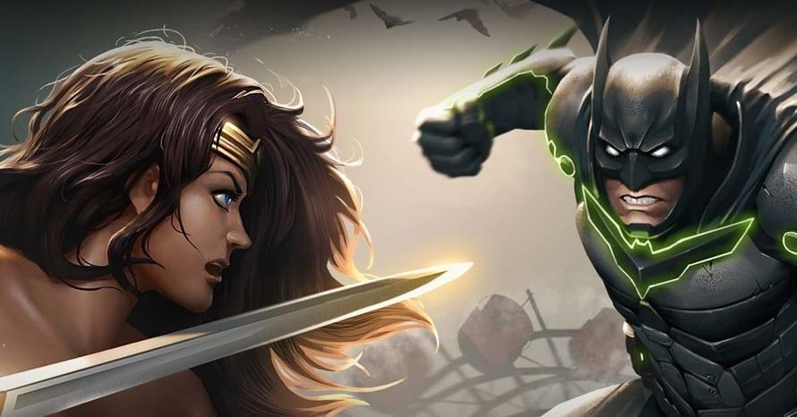 Mortal Kombat Injustice Batman Superman Wonder Woman DC
