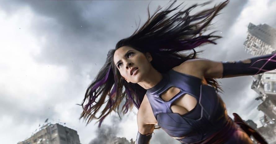 Olivia Munn Bryan Singer X-Men Apocalypse Psylocke