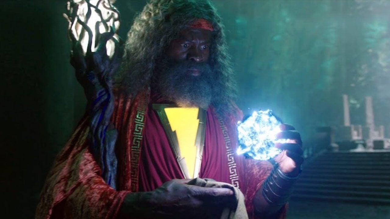 Shazam! Fury of the Gods Djimon Hounsou's Wizard