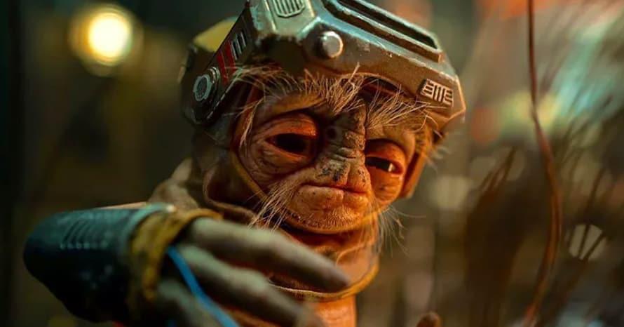 Star Wars Babu Frik Steven Spielberg The Rise of Skywalker