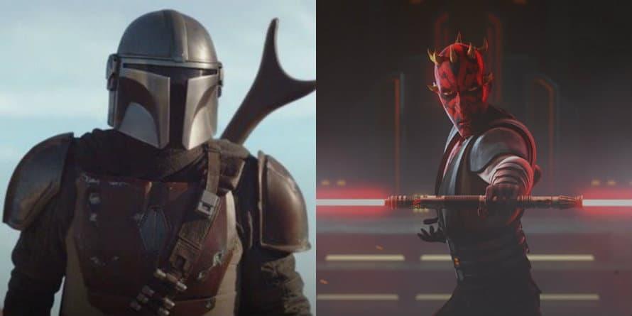 Star Wars The Mandalorian Sam Witwer Darth Maul