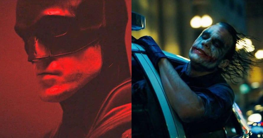 The Batman Matt Reeves Heath Ledger Joker