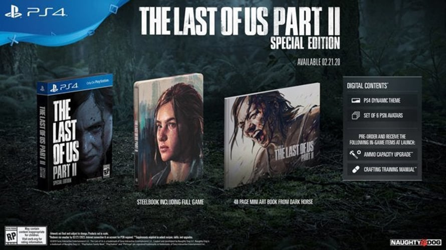 The Last of Us Part II Collectors Edition One