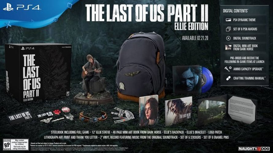 The Last of Us Part 2 Collectors Edition Three