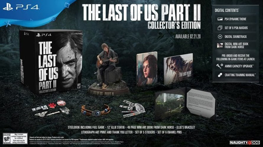 The Last of Us Part II Collectors Edition Two