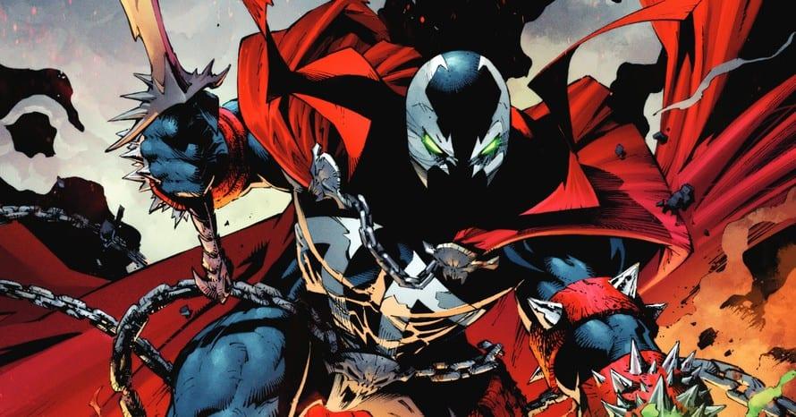 Todd McFarlane Spawn Venom Spider-Man