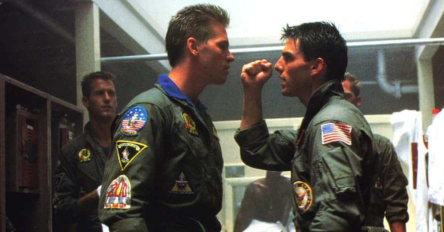 Val Kilmer Top Gun Maverick Tom Cruise