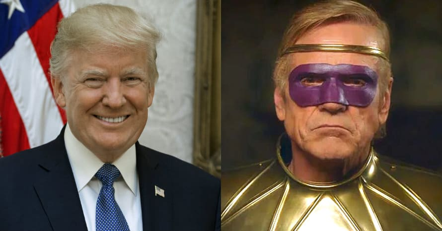 Watchmen Donald Trump Ozymandias Damon Lindelof