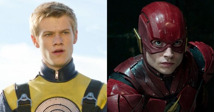 X-Men The Flash Ezra Miller Lucas Till