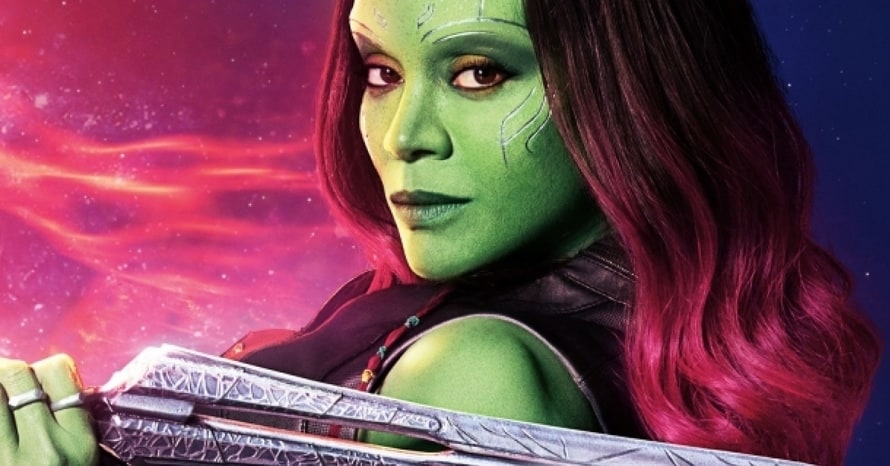 Zoe Saldana Guardians of the Galaxy Gamora Avengers: Infinity War James Gunn What If Thanos