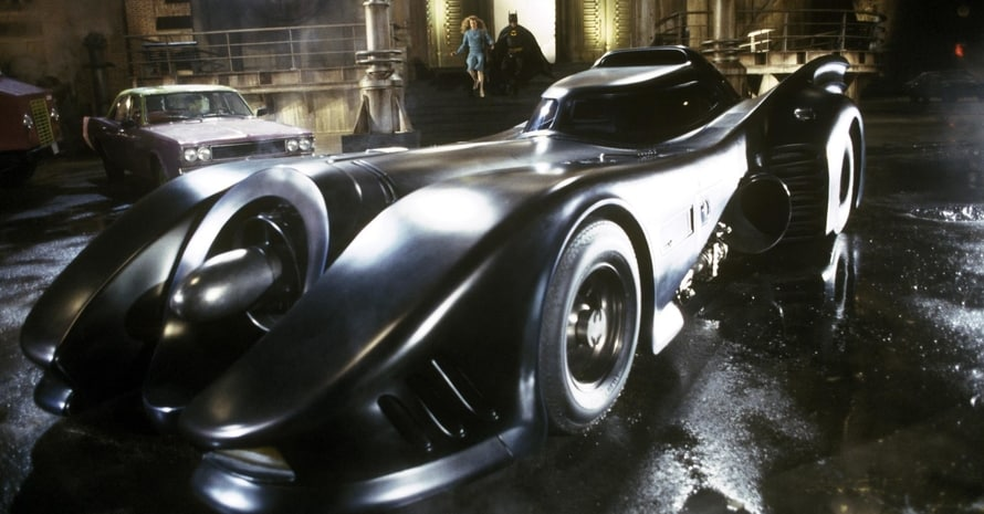 Batman Batmobile Warner Bros