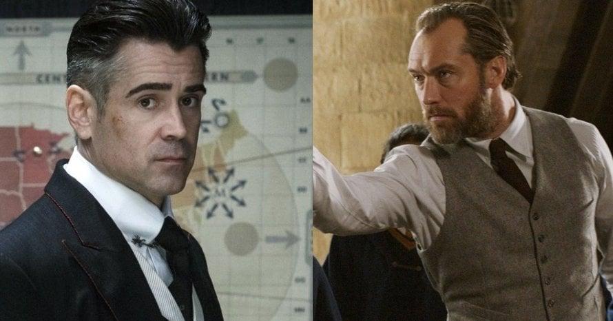 Colin Farrell Jude Law Fantastic Beasts Batman v Superman