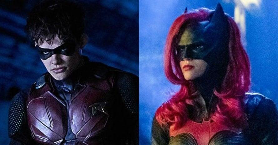 Curran Walters Ruby Rose Robin Titans Batwoman Jason Todd Titans