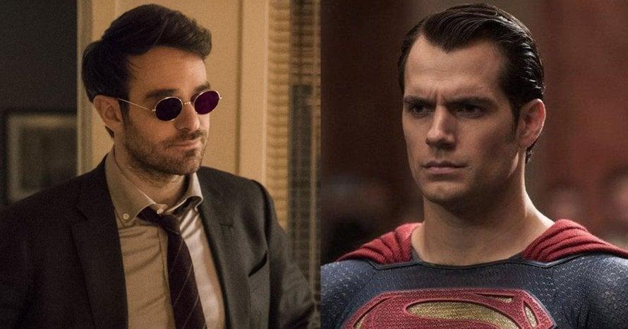 Daredevil Charlie Cox Henry Cavill Superman Matthew Vaughn