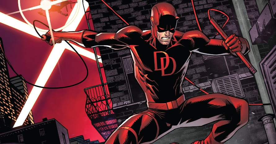 Are Troy Baker & Marvel Games Head Bill Rosemann Teasing A Daredevil Video Game?