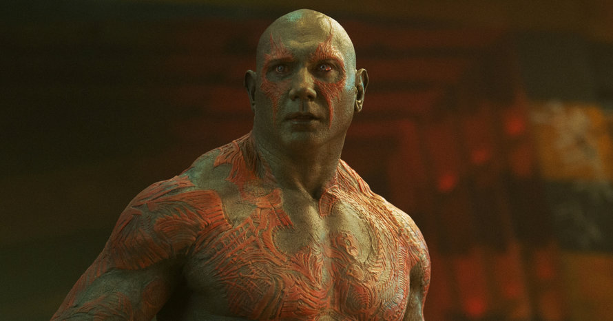 Dave Bautista James Gunn Guardians of the Galaxy vol. 3 Drax WWE Jim Starlin