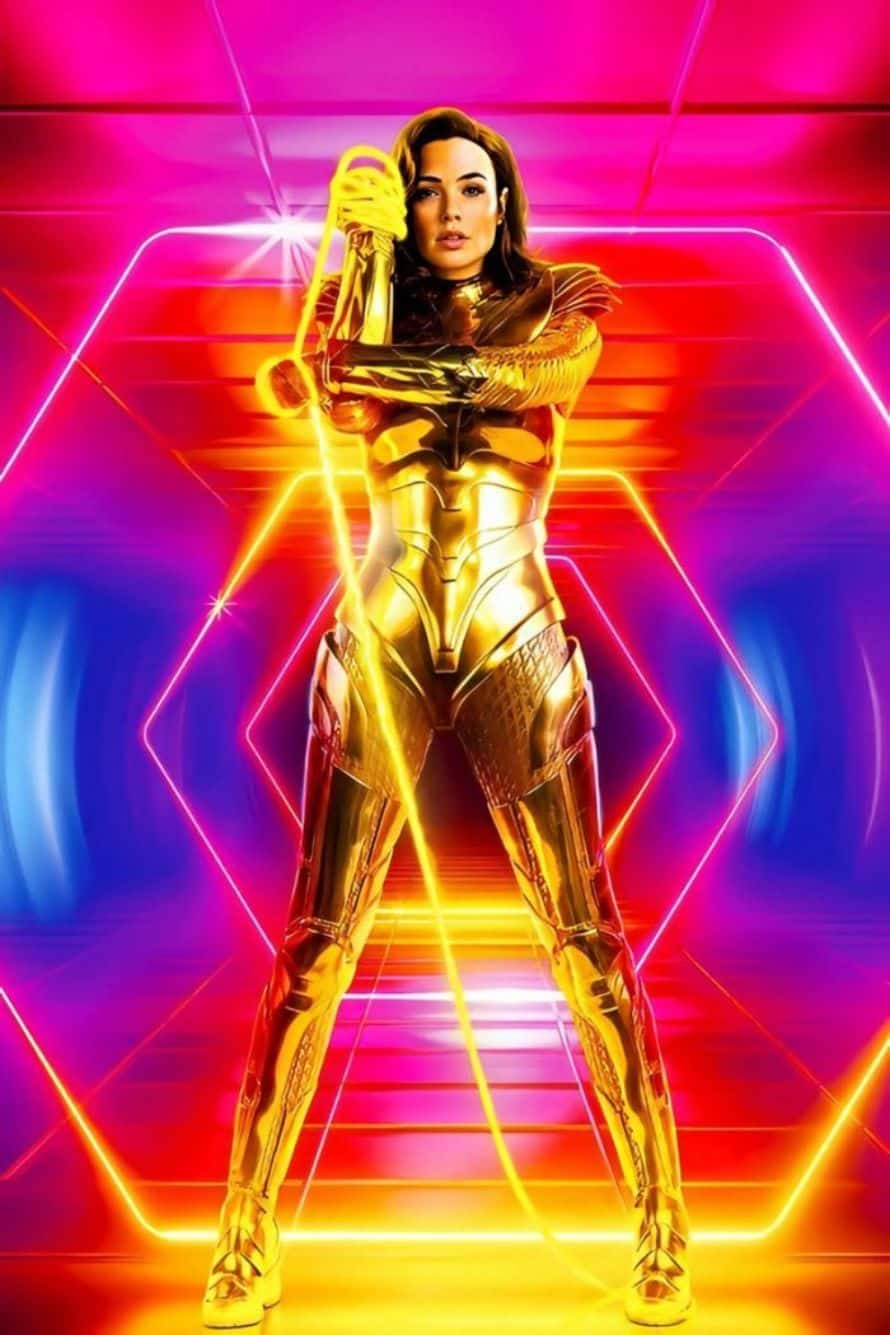 Gal Gadot Wonder Woman 1984 Lasso of Truth Poster