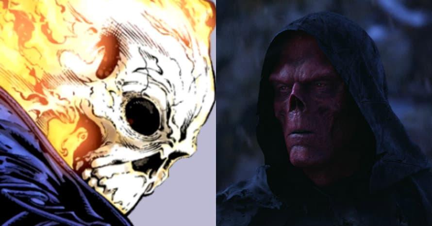 Ghost Rider Red Skull Avengers