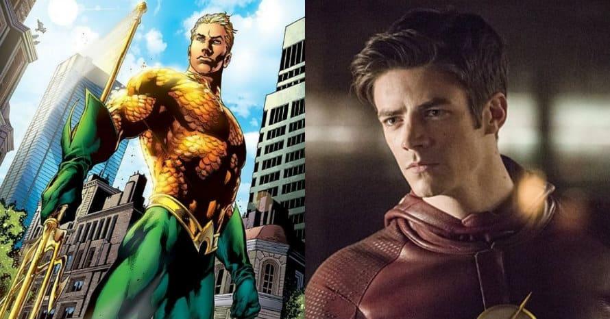 Grant Gustin The Flash Aquaman