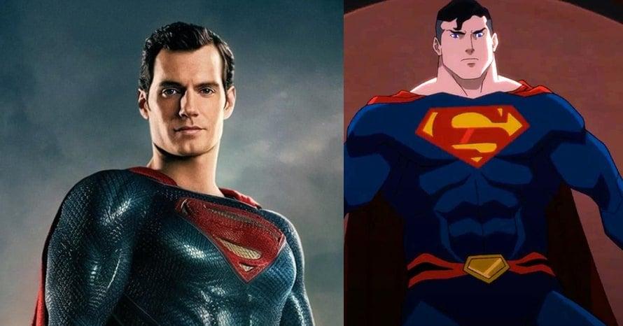 Henry Cavill Superman Justice League Dark
