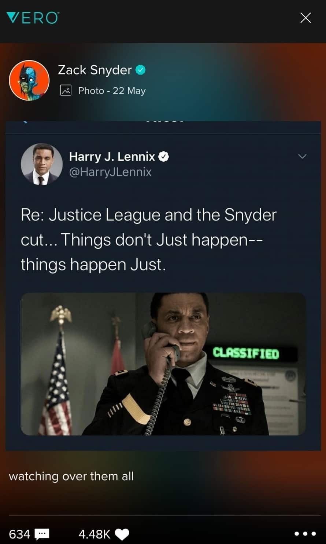 Martian Manhunter Justice League Zack Snyder Vero Harry Lennix
