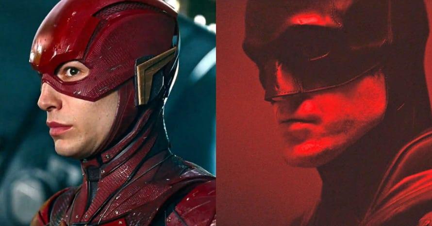 Robert Pattinson The Batman Ezra Miller The Flash