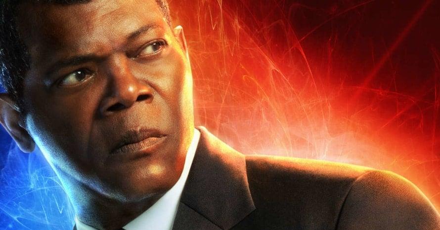 Samuel L Jackson Captain Marvel Pulp Fiction Nick Fury