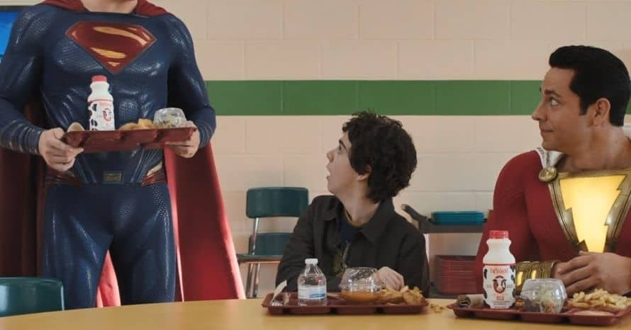 Shazam David F. Sandberg Henry Cavill Superman John Williams