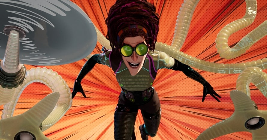 Spider-Man Into the Spider-Verse Doctor Octopus