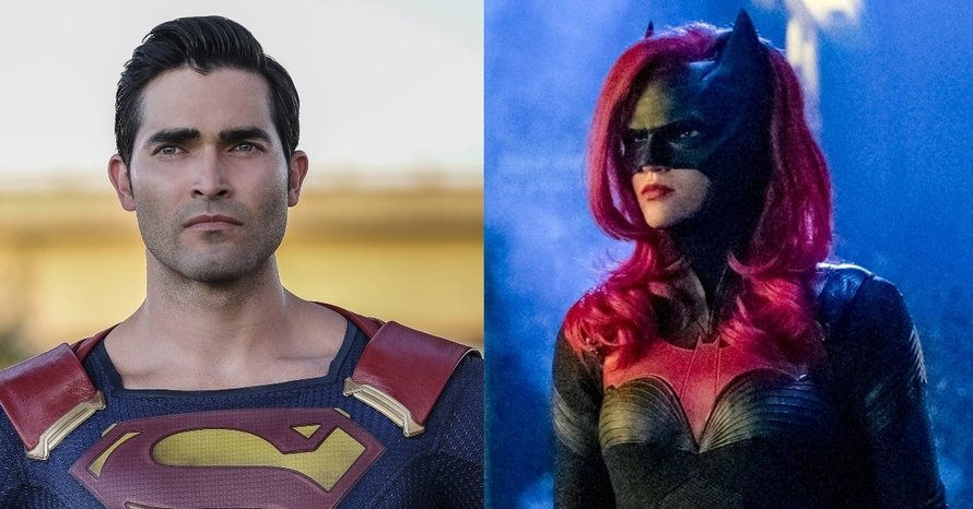 Tyler Hoechlin Superman Ruby Rose Batwoman The CW Arrowverse