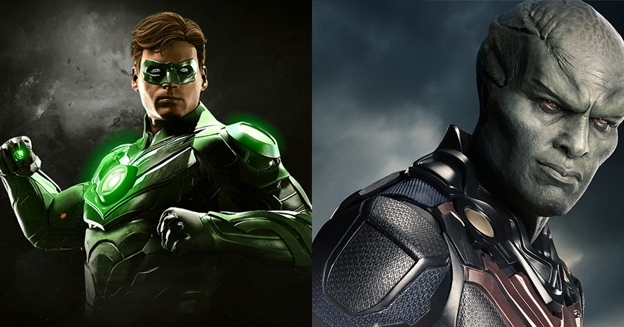 Zack Snyder Justice League Green Lantern Martian Manhunter