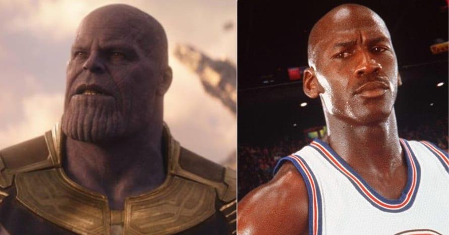 Michael Jordan Thanos The Last Dance