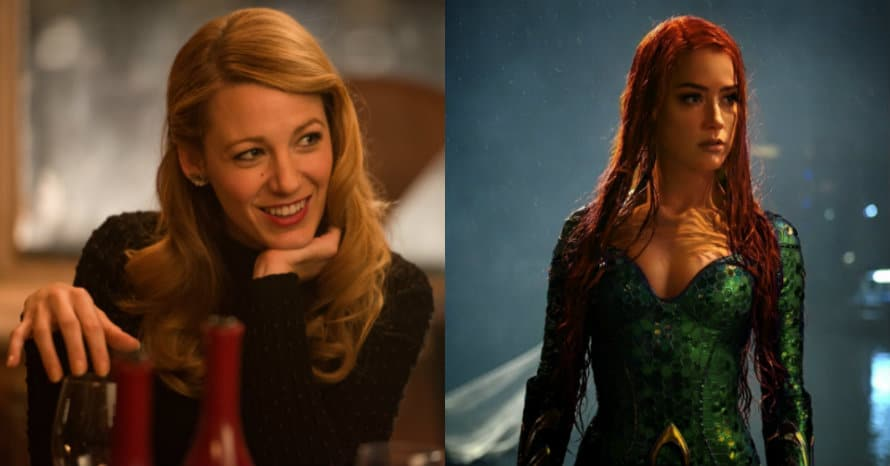 See Blake Lively Replace Amber Heard As Mera For Aquaman 2