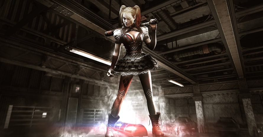 Batman Arkham Suicide Squad Rocksteady Harley Quinn