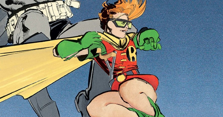 Carrie Kelley Robin Zack Snyder DC Extended Universe