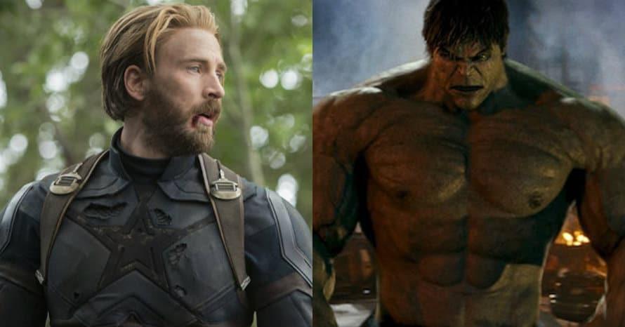Chris Evans Captain America The Incredible Hulk