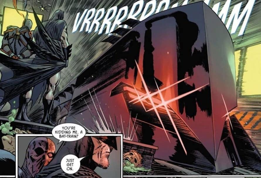 DC Comics Batman Bat-Train