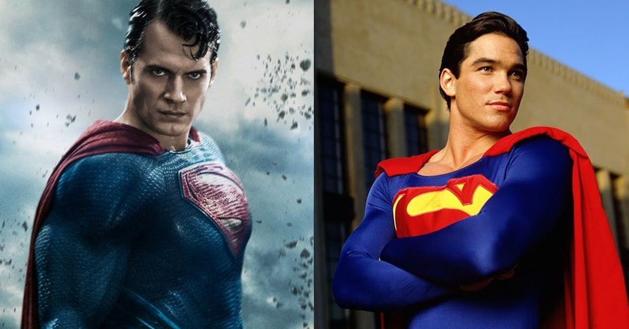 Dean Cain Superman Henry Cavill Zack Snyder Justice League