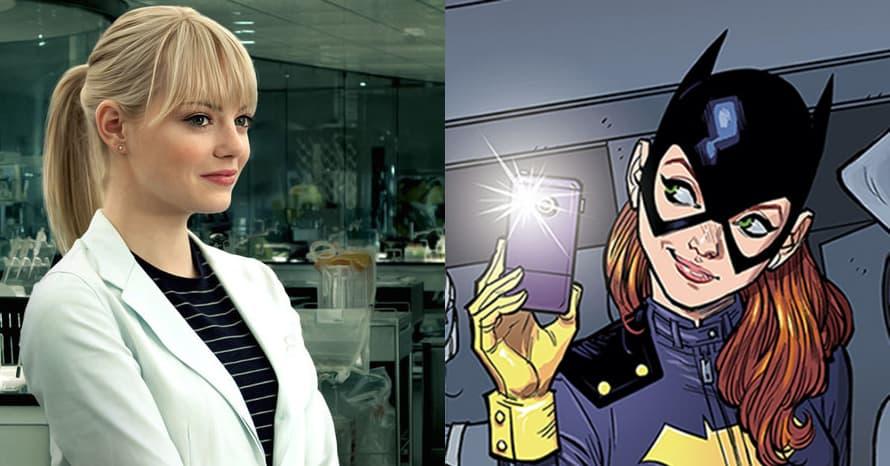 Emma Stone The Amazing Spider-Man Batgirl