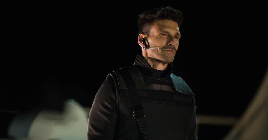 Frank Grillo Chris Evans Captain America The Winter Soldier Crossbones Marvel