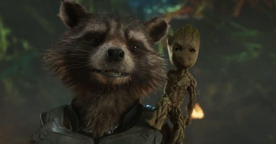 Groot Rocket Raccoon Guardians of the Galaxy James Gunn