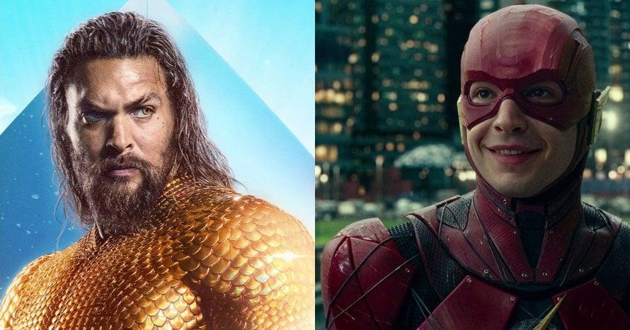 Jason Momoa Flashpoint Aquaman Ezra Miller The Flash
