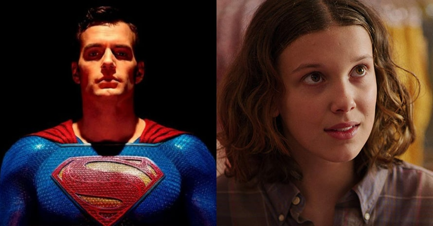 Netflix Millie Bobby Brown Henry Cavill Enola Holmes